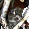 Engine. Head strip down.