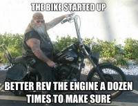You Know your a biker when…