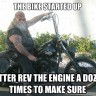 Bikers life for me..vid