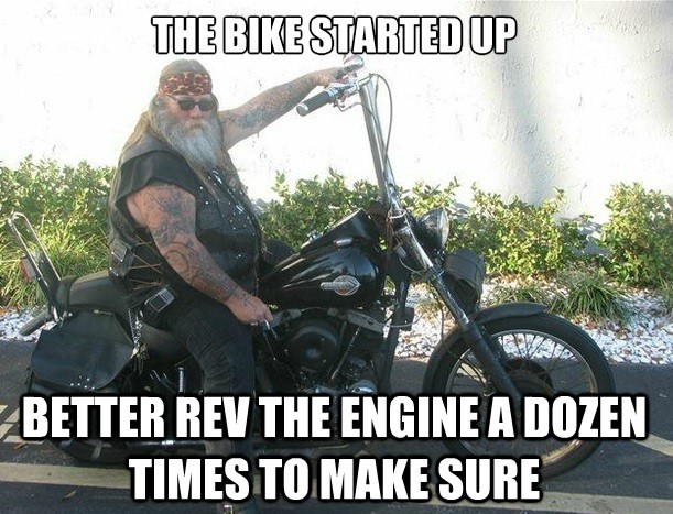 You Know your a biker when...
