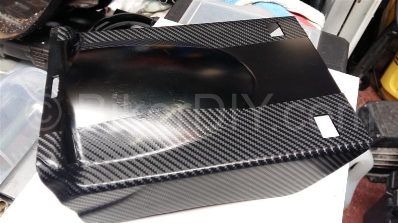 vt700c back mudgaurd vinyl carbon fiber look