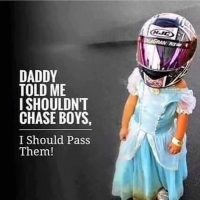 Daddy told me I shouldn't chase boys…