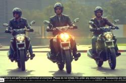 Suzuki Intruder ad for India